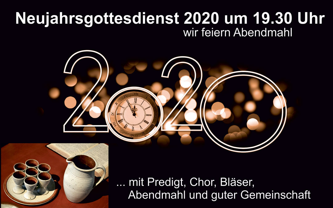 Neujahrs-Gottesdienst 2020