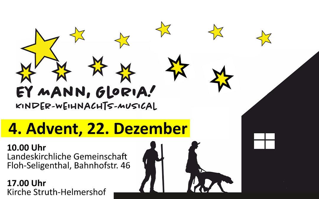 """""""Ey Mann, Gloria"""" – Kinder-Weihnachts-Musical"""