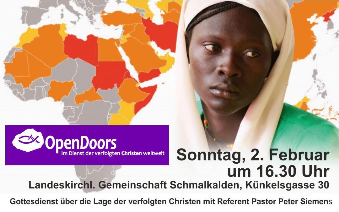 OpenDoors in Schmalkalden